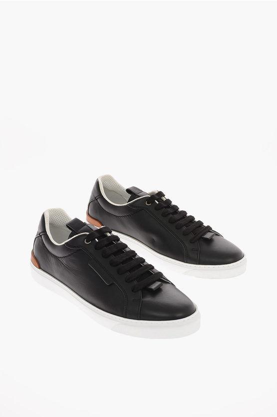 Zegna EZ LUXURY Sneakers FERRARA in Pelle taglia 7