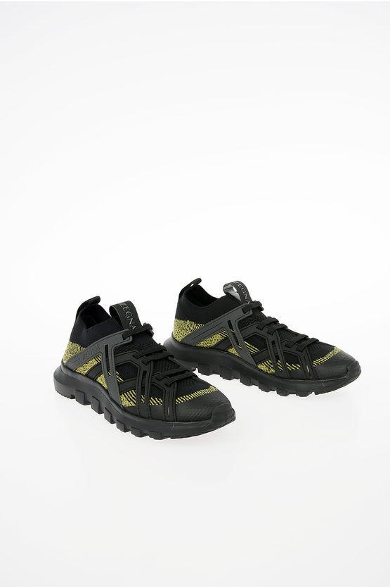 Zegna ZZEGNA Sock Sneakers in Tessuto TECHMERINO taglia 5+