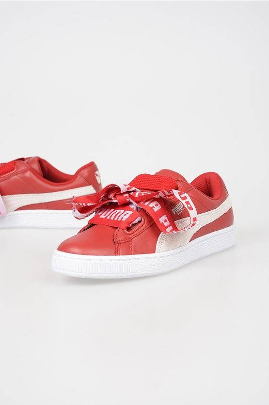 Puma Sneakers BASKET HEART in Pelle taglia 40,5