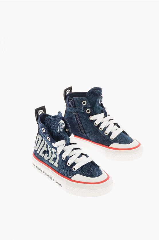 Diesel Sneaker ASTICO SN MID 07 MC CH in Tessuto taglia 30