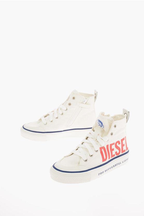 Diesel Sneaker ASTICO SN MID 07 MC CH in Tessuto taglia 31