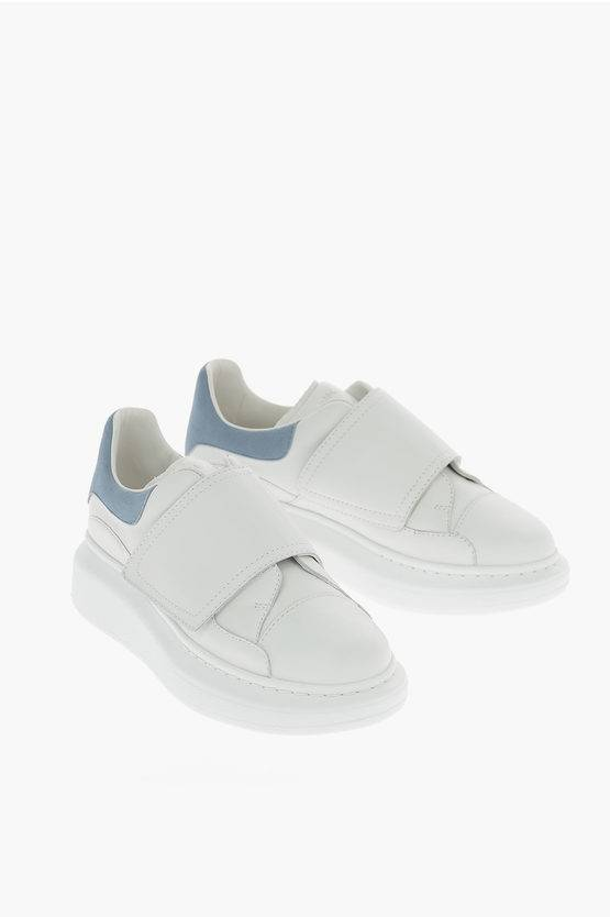 Alexander McQueen Sneakers MOLLY KID in Pelle taglia 26