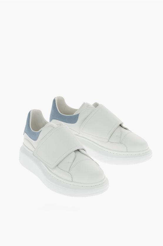 Alexander McQueen Sneakers MOLLY KID in Pelle taglia 26