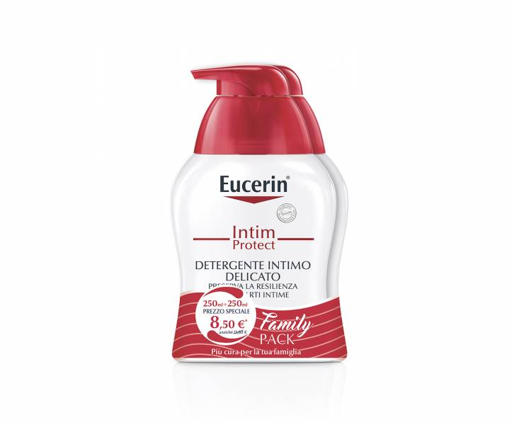 eucerin detergente intimo family pack