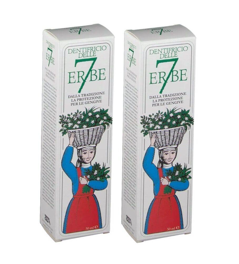 dentifricio 7 erbe - offerta speciale 2 per 1