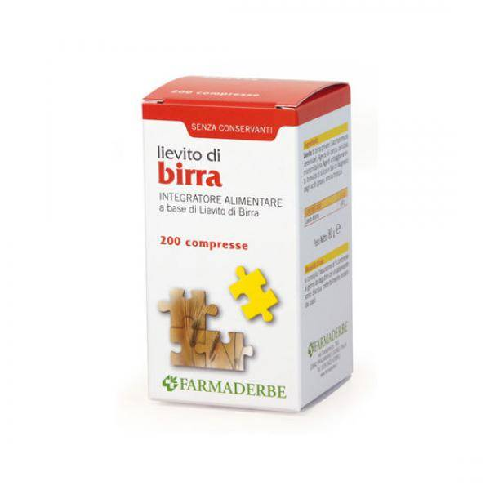 Lievito di Birra Farmaderbe 200 cpr
