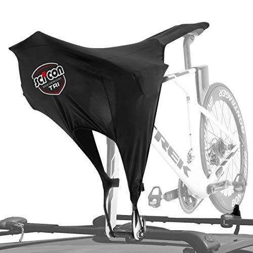 scicon roof rack bike bra cover-triathlon, adulti unisex, nero, standard
