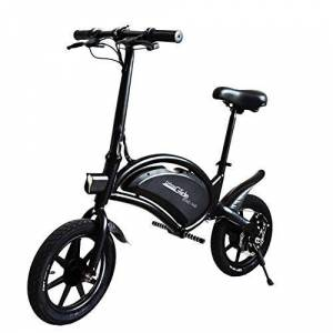 UrbanGlide Bike 140 Monopattino Elettrico Adulto Unisex, Nero, Singolo