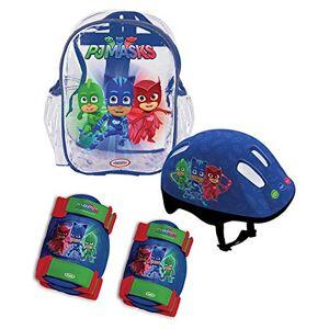 PJ Masks OPJM004, Set Monopattini Unisex Bambini, Multicolore