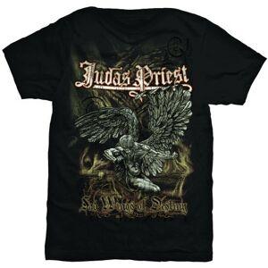Sconosciuto Judas Priest - Sad Wings, T-Shirt, Manica Corta da Uomo, Nero(Black), S