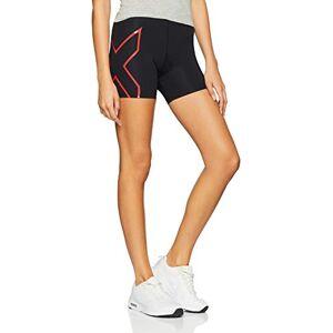2XU - Pantaloncini a Compressione da Donna, Donna, Pantaloncini, WA4481b_120, Rosso, 120