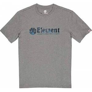 Element Boro SS T-Shirt, Uomo, Grey Heather, S