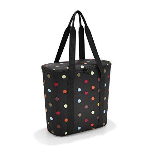 reisenthel thermoshopper bagaglio a mano 38 centimeters 15 multicolore (dots)