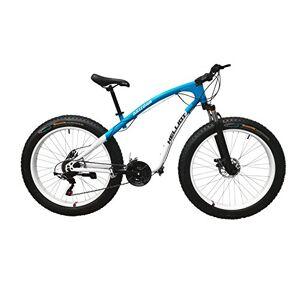 Helliot Bikes Arizona Fat Mountain Bike Unisex Adult Biancoblu M L