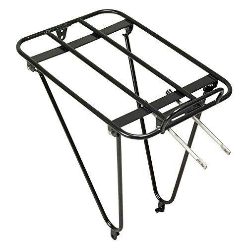 minoura gamoh rear rack, portabici unisex-adulto, nero