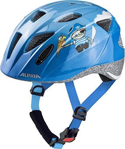 alpina casco moto per bambini ximo, bambini, radhelm ximo, pirati, 45-49