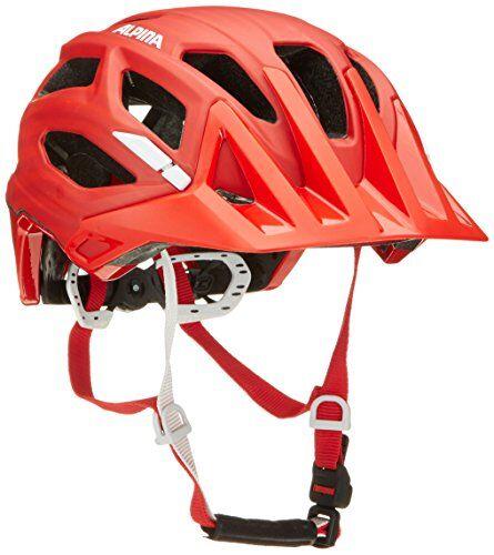 alpina casco da moto garbanzo, unisex, 9700350, rosso, 57-62