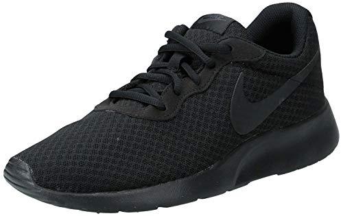 nike tanjun, scarpe running uomo, black (001 black), 42.5 eu