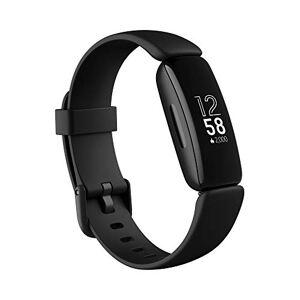 Fitbit Inspire 2 - Tracker per Fitness e Benessere con Un Anno di Prova Gratuita del Servizio Fitbit Premium, Rilevazione Continua Battito Cardiaco, Durata Batteria fino a 10 giorni, Black