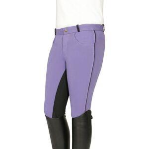 PFIFF, Pantaloni da equitazione Bambino Franka, Viola (Lila), 140 cm