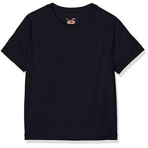 Fruit of the Loom New Kids Sport, T-Shirt Bambino, Bleu - Bleu (Bleu marine intense), 3-4 Anni