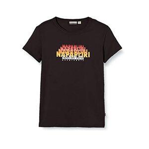 Napapijri K Syllo T-Shirt, Nero (Black 0411), 152 (Taglia Unica: 12) Bambino
