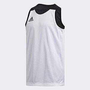 Adidas 3G SPEE Rev Jrs, T-Shirt Unisex Bambini, Black/White, 7-8Y