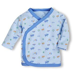 Schnizler 800206, Camicia Unisex - Bimbi 0-24, Blu (Bleu 17), 44 (Taglia produttore: 44)