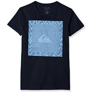 Quiksilver Classic Nano Spano maglietta, Bambini, Blu (Navy Blazer - Solid), S/10