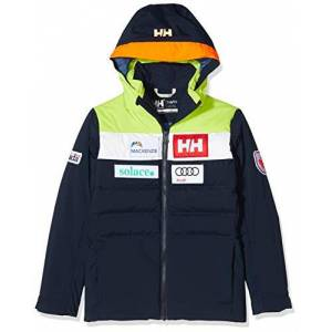 Helly Hansen Jr Cyclone Jacket, Giacca Unisex-Bambini, Blu Navy (598 Can Navy), 14 Anni
