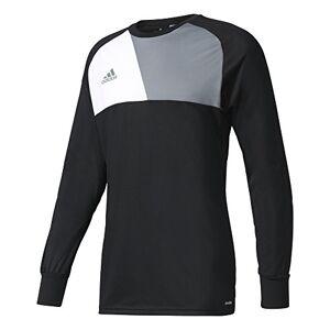 Adidas ASSITA17 Goalkeeper Jersey, T-Shirt A Manica Lunga Uomo, Black, 7-8Y