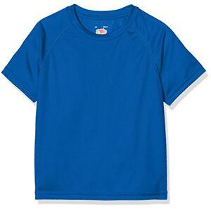 Fruit of the Loom SS074B T-Shirt, Blu (Royal Blue), 12-13 Anni (Taglia Produttore: 34) Bambino