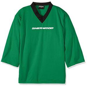 Sherwood, Maglietta da Allenamento Bambino Practice Jersey, Verde (Grn), XXS
