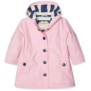 Hatley Splash Jackets Giacca Impermeabile, Classic Pink & Navy, 12 anni Bambina