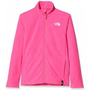 The North Face Y Snow Quest FZ R, Pile Bambino, Rosa (Mr. Pink), M
