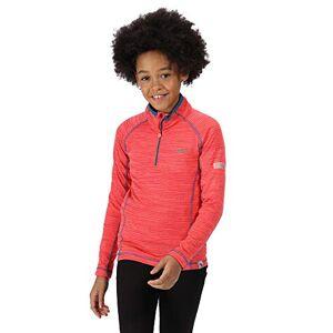 Regatta ' Berley' Half Zip Base Layer Top, T-Shirt/Polo/Vest Bambino, Fiery Coral, XXL