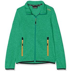 CMP Leggero Knit Tech 39H5305, Giacca di Pile Bambina, Verde (Mint/Aquamint), 128