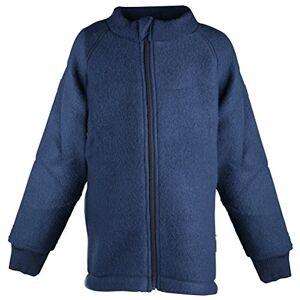 Mikk-Line Kinder Woll-Jacke Cappotto, Blu (Blue Nights 287), 24 Mesi Unisex-Bimbi