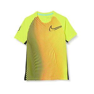 Nike Dri-Fit Cr7, Maglietta da Calcio Unisex Bambini, Lemon Venom/Black/Black, S