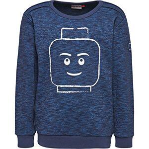 Lego Wear Saxton 606-SWEATSHIRT Felpa, Blu (Dark Navy 589), 5 Anni Bambino