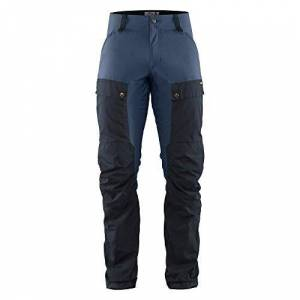 Fjllrven FJALLRAVEN Keb Trousers M, Pantaloni Uomo, Blu Navy Scuro/Blu (Uncle Blue), 60