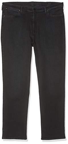Wrangler Plus' Straight Jeans, Blu (Stretch Limo), 42W / 32L Donna