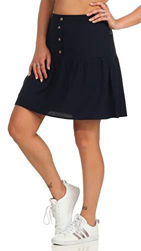 Vero Moda Vmhelenmilo Short Skirt Wvn Gonna, Biancaneve, L Donna