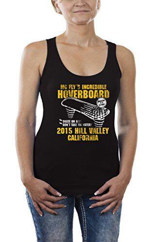 touchlines hoverboard canotta, black(black13), large donna