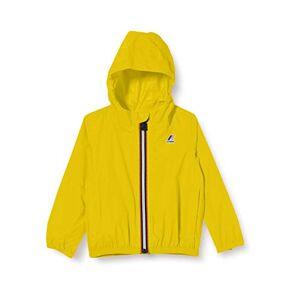 K-Way K0073G0, Giacca con Cappuccio Unisex-Bimbi, Giallo (Yellow Mustard), 80 (Taglia produttore:12)