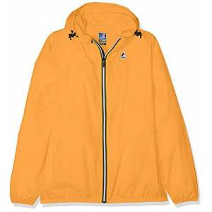 K-Way Claude Giacca Impermeabile, Arancione (Orange 026), 104 (Taglia Produttore:4Y) Bambino