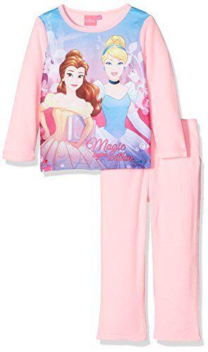 Disney Princess Royal Outfit-Set Pigiama Bambina Rosa Pink