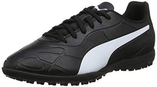 puma monarch tt, scarpe da calcio uomo, nero black white, 47 eu