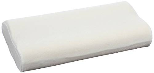 sissel 112006, cuscino cervicale unisex  adulto, bianco, 63 x 32.5 x 13 cm