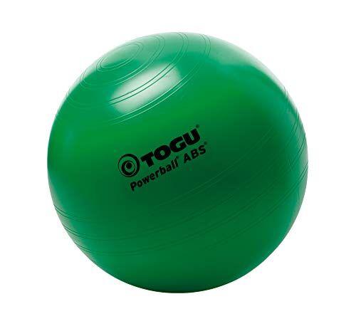 togu, fitball powerball abs, verde (grn), 55 cm